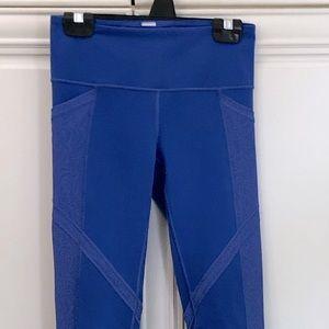 Ivivva by Lululemon reversible girls leggings